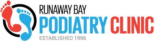 Podiatrist Runaway Bay | Foot Care and Treatment – Runaway Bay Podiatry Clinic Sticky Logo Retina